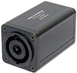 Neutrik NL8MM 8 pólusú Speakon hangfalcsatlakozó kábelek toldásához