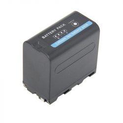 Sony NP-F970D (6600mAh) utángyártott akku töltöttségjelzővel