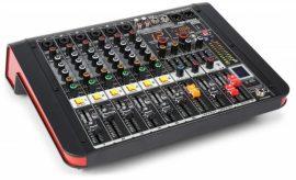 Power Dynamics PDM-M604A (2x200w) keverőerősítő, Bluetooth + Effekt