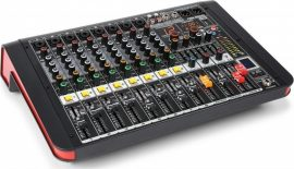 Power Dynamics PDM-M804A (2x200w) keverőerősítő, Bluetooth + Effekt