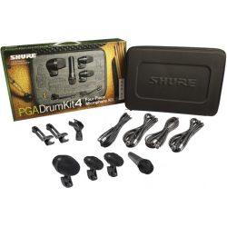 Shure PGA-DRUMKIT4 dobmikrofon szett
