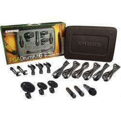 Shure PGA-DRUMKIT6 dobmikrofon szett