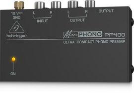 Behringer PP400 lemezjátszó előerősítő