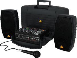 Behringer PPA200 EUROPORT hordozható mobil hangosító szett