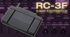 Tascam RC-3F lábpedál (3 pedálos)
