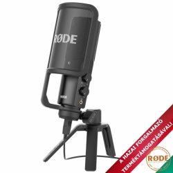 Rode NT-USB nagymembrános kondenzátor stúdiómikrofon