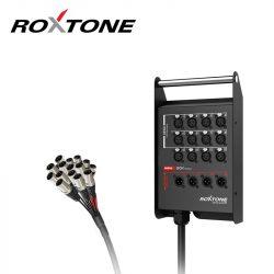 Roxtone STBN1204L20 Professzionális csoportkábel, 12+4 ér, 20m