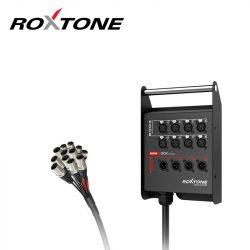 Roxtone STBN0804L10 Professzionális csoportkábel, 8+4 ér, 10m