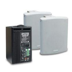 APart SDQ5P-W aktív hangfalpár 2x30W (fehér)