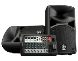 Yamaha StagePas 400BT komplett hangrendszer