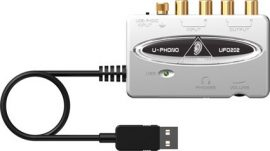 Behringer UFO202 U-PHONO USB-s audio interface