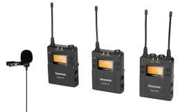 Saramonic UwMic9 Kit2 V2.Dupla csíptetős kamera mikrofon szett