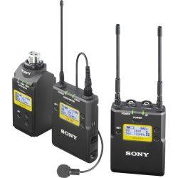Sony UWP-D16 kamera mikrofon szett Plug-on adóval