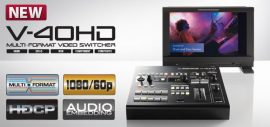 Roland V-40HD multi formátumú video keverő