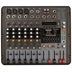 Voice-Kraft VK-PM808 Powermixer, 2x200W/4Ohm, MP3 lejátszó