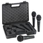 Behringer XM1800S ULTRAVOICE 3db-os mikrofon szett