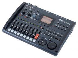 Zoom R8 többsávos felvevő, kontroller, interface